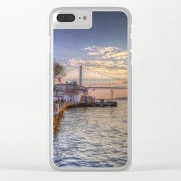 Istanbul Turkey Bosphorus Clear iPhone Case