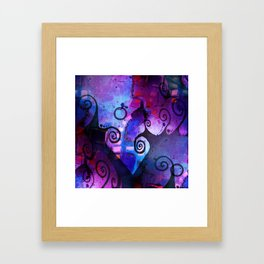 Midnight In My Mind Framed Art Print
