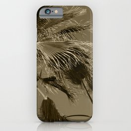 Palm Trees Lanzarote Tint iPhone Case