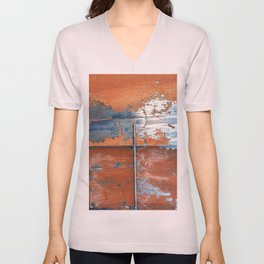 Rust and Metal Unisex V-Neck