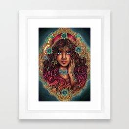 The Seer Framed Art Print