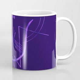 Kandinsky - Purple Abstract Art Coffee Mug