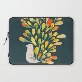 Watercolor Peacock Laptop Sleeve