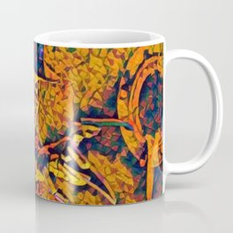 A Nightmare Elm Street Freddy Krueger Angry Artistic Illustration Evil Shapes Style Coffee Mug