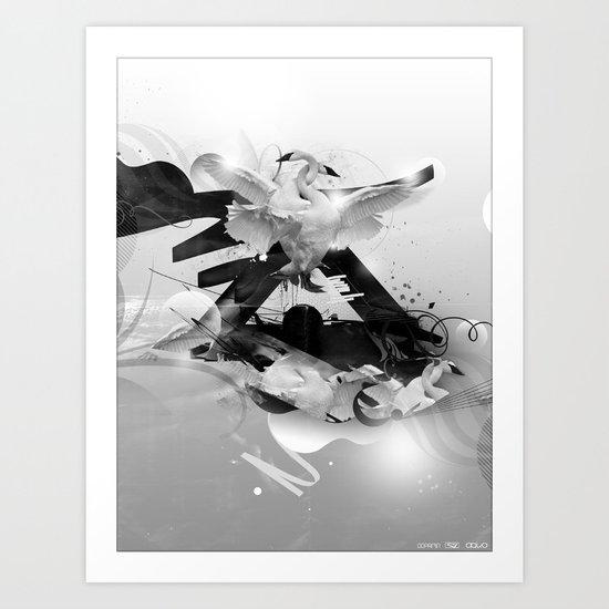 A moment of Lightness Art Print