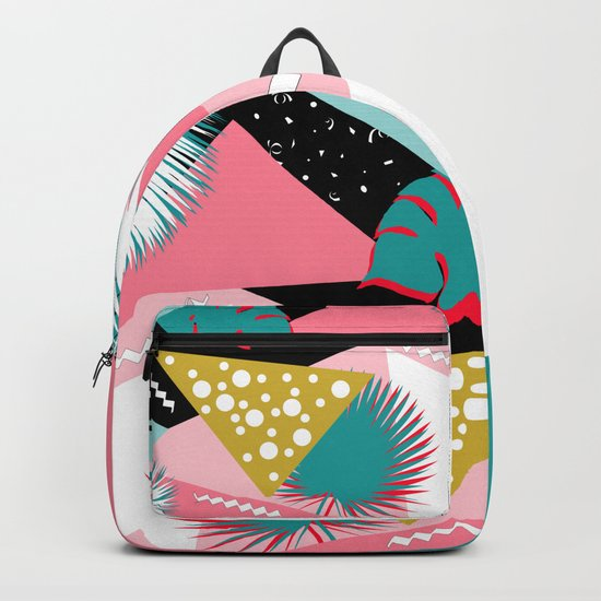 tropical mix colors Backpack