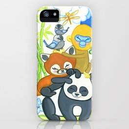 Bamboo Bunch iPhone Case