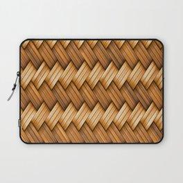 Golden Basket Weave Laptop Sleeve