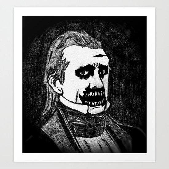 11. Zombie James K. Polk  Art Print