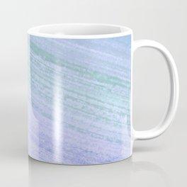 Aquamarine Dry Brush Coffee Mug