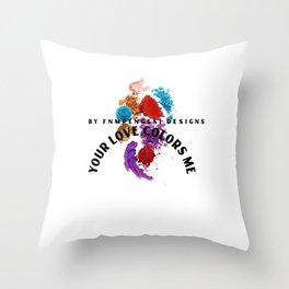 Bright world art  Throw Pillow