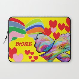 ASL More Love! Laptop Sleeve