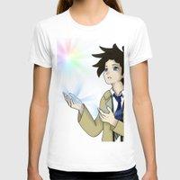 castiel T-shirts featuring Castiel by buttsp8jr