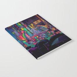 Tokyo Nights / Shibuya Neon Noir / Rain / Liam Wong Notebook