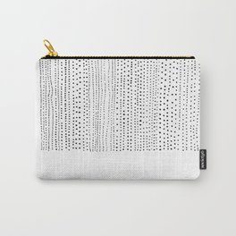 DOTS - Poetry of the Pen Series by Cooper and Colleen Carry-All Pouch
