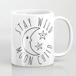 Stay Wild Moon Child Print Coffee Mug