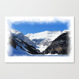 Lake Louise in Banff National Park Canvas Print