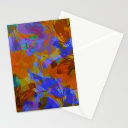 Yellow Water Blossoms Stationery Cards