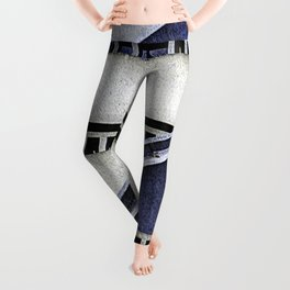 High Rise Abstract Leggings