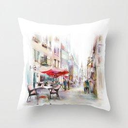 Salzburg2 Throw Pillow
