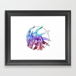 Spirt of the Dragon Framed Art Print