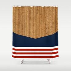 Vintage Rower Ver. 1 Shower Curtain