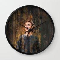 hamlet Wall Clocks featuring Hamlet by Wisesnail