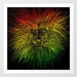 LION-O-CHAIN  Art Print