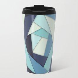 Layers of Blues Travel Mug