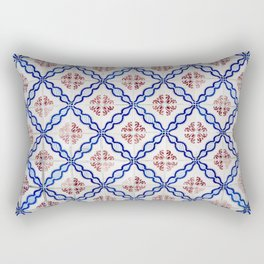 Portuguese Tiles 4 Rectangular Pillow