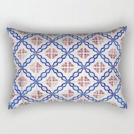 Portuguese Tiles 4 Rectangular Pillow