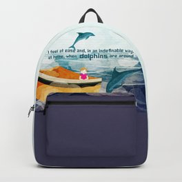 When dolphins are around 1 Backpack