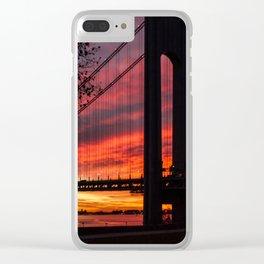 Sunrise at the Bridge Clear iPhone Case