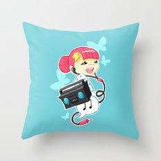 Rhythm 2 Throw Pillow