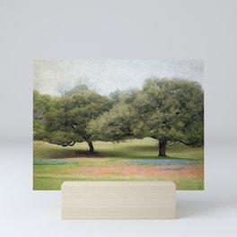 Hillcountry Bluebonnets Mini Art Print
