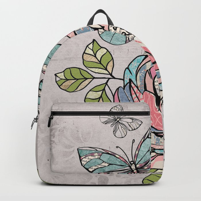 Paper Flowers #2 Backpack