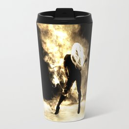 Sexy Fire Girl Travel Mug