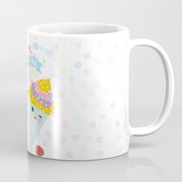 I love you Card design - Birthday, valentine's day, wedding, engagement. Sweet cake,  Kawaii Coffee Mug