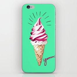 Yummy Ice Cream | Digital Art iPhone Skin