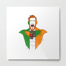 Connor McGregor Metal Print