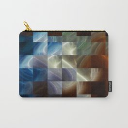 Metal Squares Carry-All Pouch
