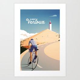 Mont Ventoux Art Print