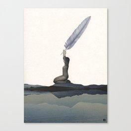 Prana (the cosmic energy) Canvas Print