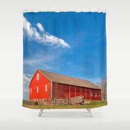 Spangler House Farm Shower Curtain