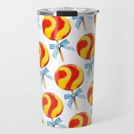 Candy Pattern Travel Mug