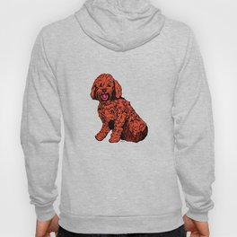 Labradoodle Illustration Hoody