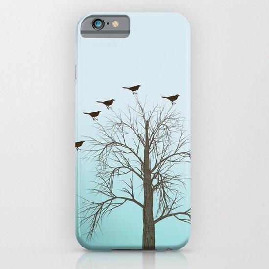 Tree with Birds iPhone & iPod Case