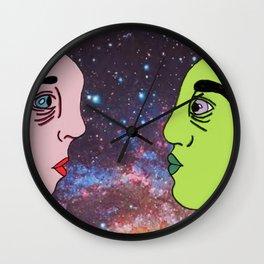 Galaxy Buddies Wall Clock