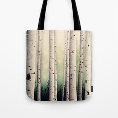 Birch wood at Midsummer Tote Bag