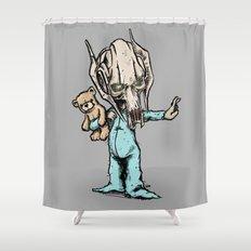 General Onesie Shower Curtain